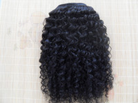 Wholesale Black Beauty Weave - malaysia virgin kinky curly hair weaves queen hair products natural black human hair extensions1 bundles one lot beauty weft