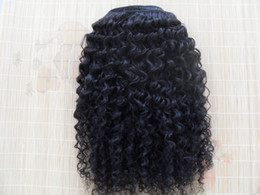 Wholesale Beauty Queen Human Hair - malaysia virgin kinky curly hair weaves queen hair products natural black human hair extensions1 bundles one lot beauty weft