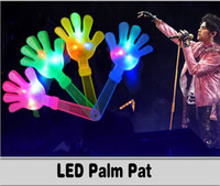 Pats Led online - New Popular LED Cheer Palm Pat Light Sticks Colorful Changed Flash Wand Kids Toys For Christmas Concert Birthday Party Supplies