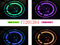 Fedex DHL Free Shipping LED Flash motorcycle Bicycle Wheel l...