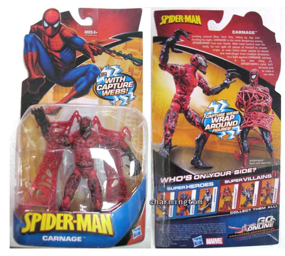 2018 marvel spider man classic villain carnage action