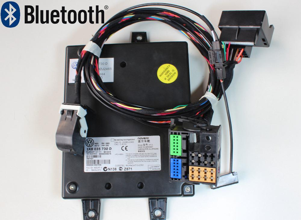 Car VW Bluetooth Module 9W2 1K8 035 730 D + Microphone + Harness No A Wire Plus Wiring Harness on wire harness ultra motorcycles, wire plus ignition module, wire plus wp 171-6, wire plus wp 143,