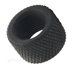 Black Steel .750 Diameter 223 .223 308 .308 Thread Protector 1 2x28 Pitch & 5 8x24 thread