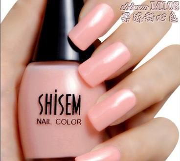 Flesh Nail Polish Bare Color Pink Light Metal Water Mood Brands From Calphen 1006