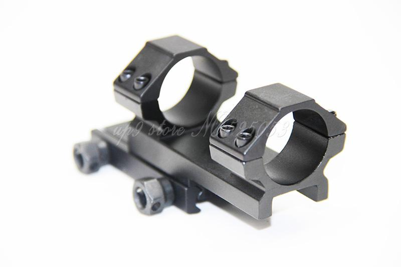 "Tactical Integral 25.4/1"" Ring Mount Rifle Scope Weaver Picatinny 20mm Rail Mount"