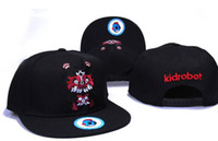 Wholesale Swagg Snapback Caps - 10pcs lot Fashion Hip Hop Hat Booger Children Kids Kidrobot Coke Boys Cayler & Sons Snapback Hats Caps Fuckdown Swagg Cap