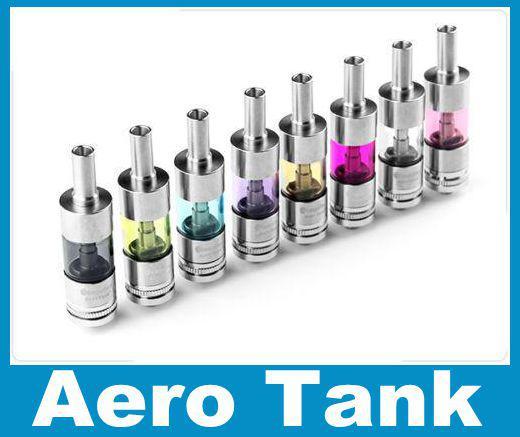 Neue Aero Tank Tankwagen Zerstäuber Protank Clearomizer Rebuildable 2,5 ml Dual Coil Zerstäuber Pyrex Glas Cartomizer Für Ego Ecig Batterie AT004