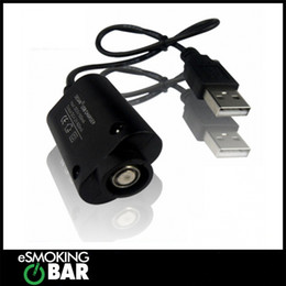 Wholesale Ego Usb Lead - USB Adapter with lead for charging all eGO style batteries USB Charger for Ego battery electronic cigarette
