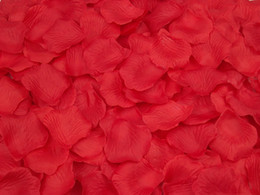 decoração de bola de rosa atacado Desconto Rosa / Roxo / Vermelho Seda Pétalas De Rosa Flor Festa De Casamento Rose Decoração Rose Pétala De Flor