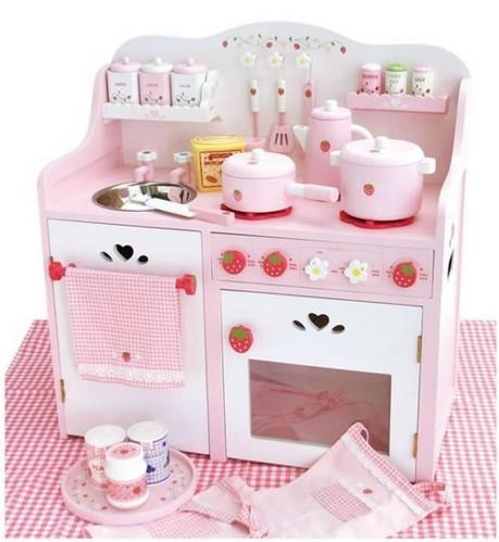 Strawberry Cooking Bench Set Mother Garden Kitchen Toy, Big Size, Wooden  Play House Toy For Children Toy Sword Toy Story Woody Toy Toys India Online  With ...