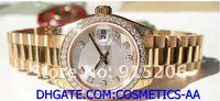 ingrosso polso diamante-Fornitore della fabbrica Orologi LUXURY Big Fashion Style 179138 Lady Anniversary Diamond Dial orologio da polso sportivo da donna automatico