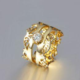 $enCountryForm.capitalKeyWord Canada - 2014 New Design 18K gold plated SWISS CZ Diamond Ring Fashion Jewelry Wedding gift Free Shipping