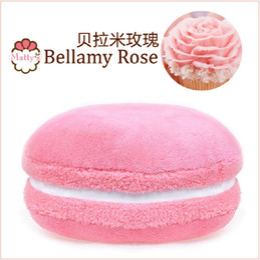 Wholesale Macaron Gift - Bellamy Rose Macaron shape cushion round cake pillow Sofa Decoration Home Decor Girlfriend gift Wedding Decoration