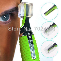 Wholesale New Shavers For Men - New LED Light Nose Ear Face Hair Trimmer Shaver Clipper Personal Facial Cleaner Home Health Care For Men Women Free Shipping
