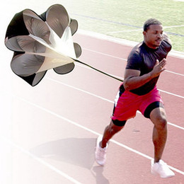 Wholesale Power Chutes - 2014Hot Selling Speed Training Resistance Parachute Umbrella Running Chute & Fitness Explosive Power Training Black,Red,Blue Free Shipping