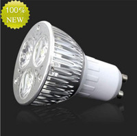 Wholesale 9w 3x3w High Power Led - High power CREE 9W 3x3W LED Spotlight Dimmable GU10 Bulb MR16 E27 E14 B22 Led Bulb Lamp Spot light led downlight led lighting