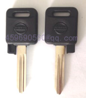 Wholesale Nissan Free Key Case - KL29 free shipping car key blank for Nissan key shell car key case with uncut blade high quality