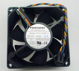 Nouveau original Foxconn PV903212PSPF 0A 92 * 92 * 32MM 12V 0.6A pour ventilateur de processeur de châssis Dell en Solde