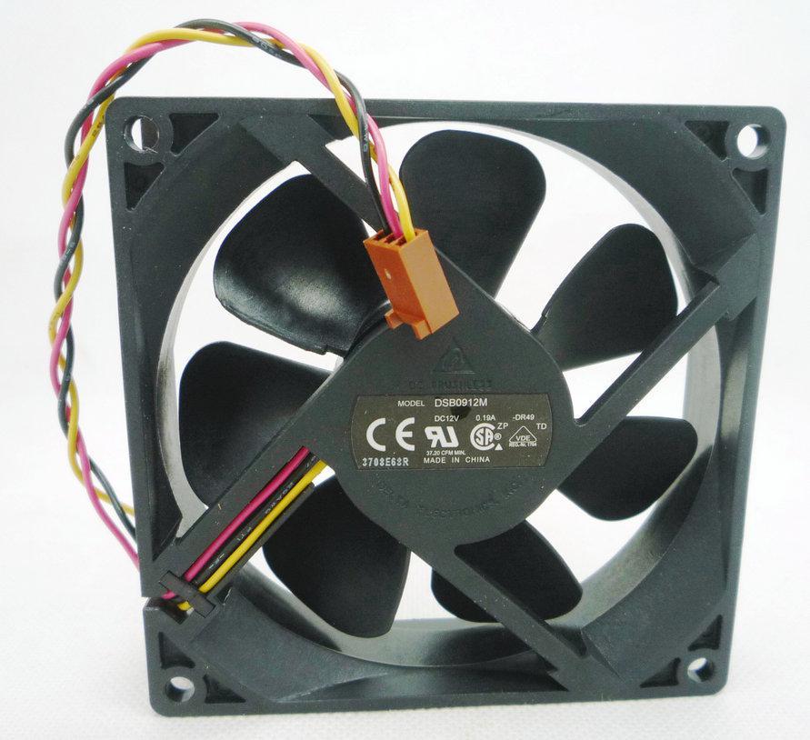 Ventilateur de refroidissement pour ordinateur muet Delta DSB0912M 12V 0.19A 9CM 9225