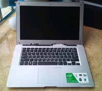 Wholesale Super Slim Hd Inch - Wholesale - Ultrabook Ultra thin 14 inch Notebook Netbook Dual Core Intel Celeron J1800 Dual core Laptop 4GB 500GB HD Screen Super Slim