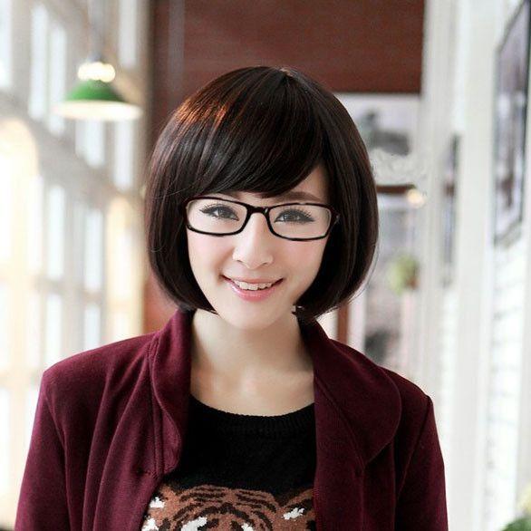 Fashion New Womens Ol Short Straight Bob Hair Hot Full Girls - Anime bob hairstyle