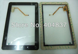 Wholesale Hero Quad - Wholesale-free shipping replacement touchscreen for ainol novo10 hero dual core or quad core tablet pc repairment touch panel black white