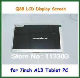 Wholesale Display Screen Q88 - Wholesale-7 inch Q8 Q88 LCD Display Screen for 7 inch Allwinner A13 Q8 Q88 Tablet Replacement Screen