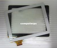 "Wholesale Onda V971 Quad Core - Wholesale-White Original Touch screen digitizer touch panel glass for 9.7"" Onda V971 V972 Quad core tablet 300-L4318A-A00 Free Shipping"