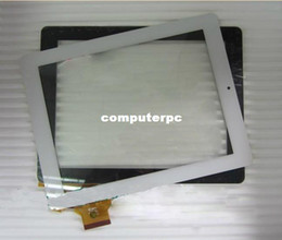 "Wholesale Onda V972 Quad - Wholesale-White Original Touch screen digitizer touch panel glass for 9.7"" Onda V971 V972 Quad core tablet 300-L4318A-A00 Free Shipping"