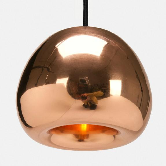discount tom dixon mini void light copper pendant lights modern glass dining room pendant lamp dia 155 cm pl147 kitchen pendant light fixtures modern