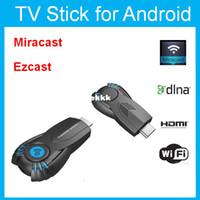 Wholesale Google Usb Stick - Wholesale-Vsmart v5ii ezcast smart tv stick media player with function of DLNA Miracast better than android tv box chromecast mk808 mk908