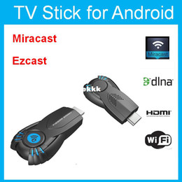 Wholesale Google Dlna Stick - Wholesale-Vsmart v5ii ezcast smart tv stick media player with function of DLNA Miracast better than android tv box chromecast mk808 mk908