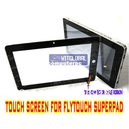 "Wholesale Superpad Touch Screen - Wholesale-5mm Outer Glass Touch Screen Replacement +Screen Film For 10.2"" Flytouch 2 3 4 Superpad 2 3 ePad Tablet - Free Shipping"