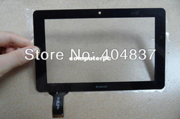 Wholesale Ainol Novo Crystal Tablet - Wholesale-Free shipping original ainol novo 7 crystal touchscreen touch panel digitizer for crystal dual quad core tablet pc black white