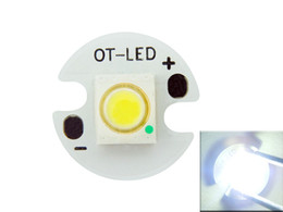 Wholesale Ot Light - Free Shipping OT-LED SemiLEDs 1W   3W 20MM   16MM 3.2-3.6V 350-700MA White Light   Warm White Light