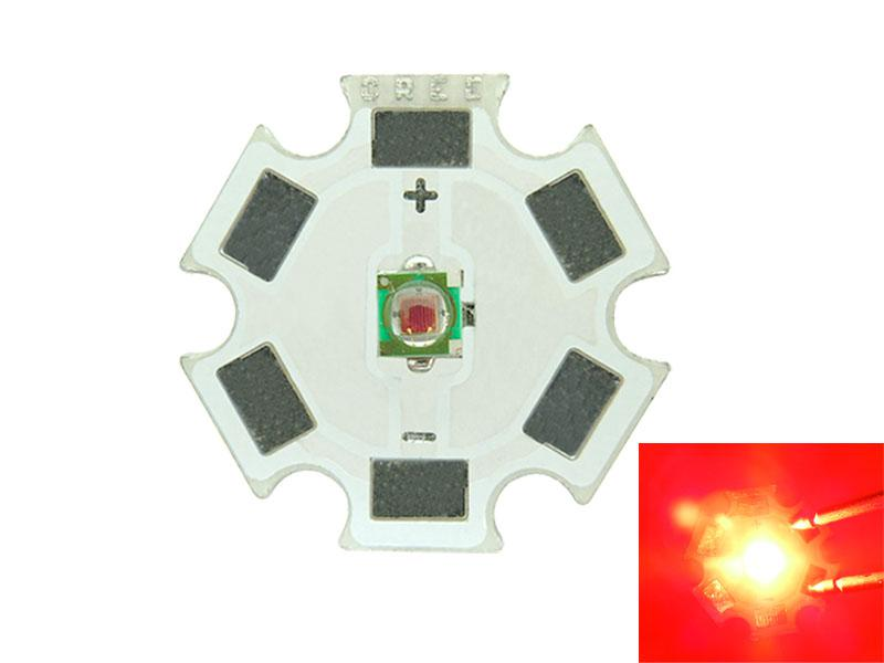 Free Shipping Cree XP-E XPE 20MM Blue / Red / Green / Yellow Amber Led Light 350-1000MA 1W/3W LED Chip Modules