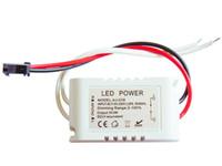 atenuador 12v impermeable al por mayor-Envío Gratis 3X3W 9 W Atenuación Led Controlador Impermeable Atenuador AC 85V-265V 9-12 V DC 600MA para 3 unids 3 W Leds 10 unids / lote