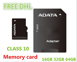 Wholesale Memory 64 - Micro SD Card Class 10 TF Memory Card 64 GB 32GB 16GB Flash