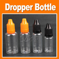 Wholesale Plastic Eyes Dropper Bottle - Oil Bottle Dropper Empty E Liquid Bottle Plastic Dropper Bottles Each LDPE Liquids EYE DROPS E-CIG OIL 5ml 10ml 15ml 20ml 30ml 50ml 0213022