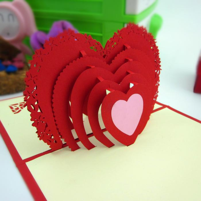 New 3d handmade paper art greeting card diy card lovers greeting new 3d handmade paper art greeting card diy card lovers greeting cards online free greeting e card from lin224 31319 dhgate m4hsunfo