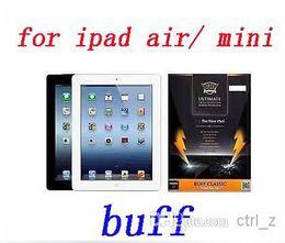 Wholesale Ipad Mini Screen Anti Shock - IPAD AIR 2 BUFF Shock Absorption Anti Scratch Screen Protector for iPad 2 3 4 ipad air ipad mini 3 retina