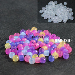 Loom bands mix online shopping - 250pcs pack UV Beads For DIY Loom Bands Bracelets Mixed colors UV Color Changing Beads Specail For Your Bracelets dandys