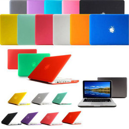 Macbook Retina 13 Inches Canada - Frosted Matt Rubberized Translucent Front + Back Hard PC Case Cover for 11 11.6 Air 13 13.3 inch 15.4 Pro Macbook Mac Pro Retina Netbook