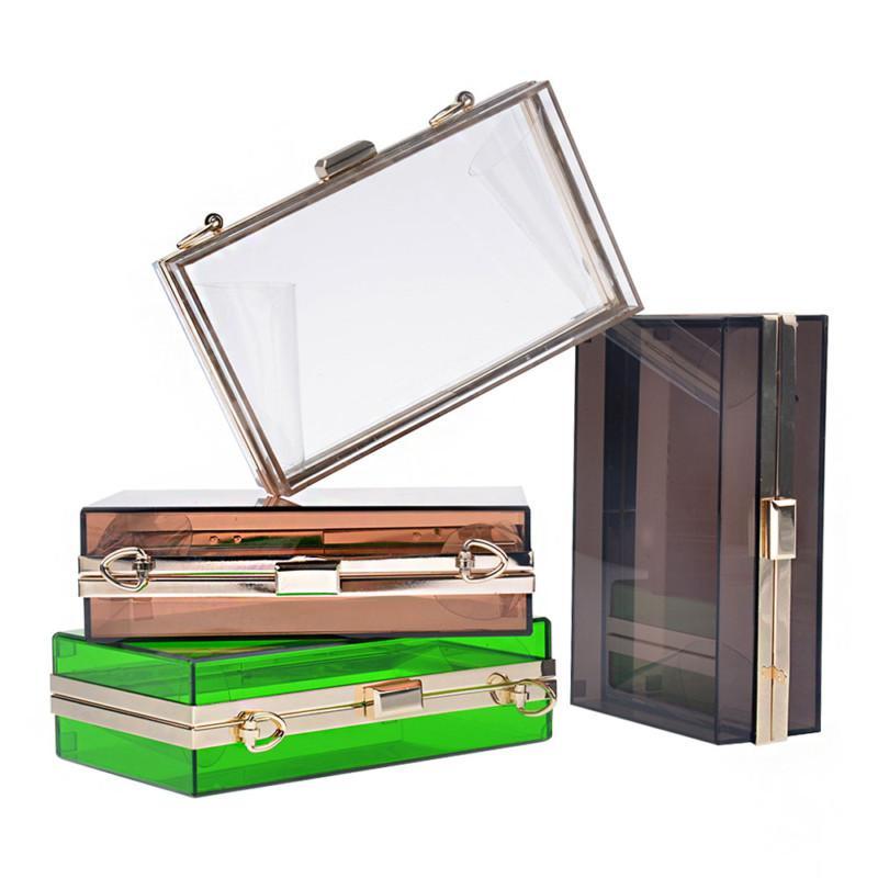 faac0ff94691a Women Transparent Lace Acrylic Perspex Clutch Clear Purse Evening Bag  Handbag Cheap Handbags Cheap Purses From Qq2937046832