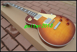 Wholesale Iced Tea 59 - 2015 Wholesale - OEM China Guitar, New Arrival Custom Shop '59 VOS, Iced Tea Electric Guitar Free shipping, one-piece neck (No Scarf)