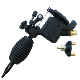 Wholesale Top Rotary Tattoo Guns - Solong Tattoo Top Quality Rotary Tattoo Machine Gun Swashdrive Gen 8 Cutback Adjustable Black Color M627-1
