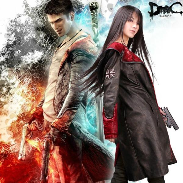 Devil May Cry 5 Dmc Dante Pleather Coat Unisex Jacket Cosplay Costume Stock u0026 Customize Sexy Halloween Costume Santa Costume From Bingopop $115.58| Dhgate.  sc 1 st  DHgate.com : cry baby movie costume  - Germanpascual.Com