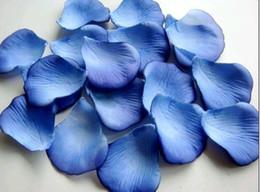 2019 favores de la rosa azul 1000 azul pétalos de rosa decoración de la boda flores favores rebajas favores de la rosa azul