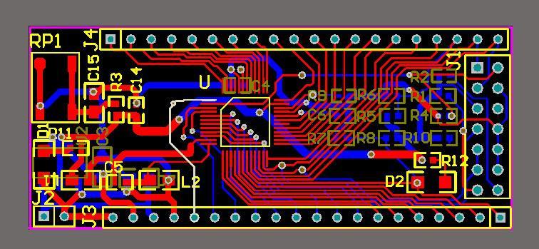 F28027 DSP PCB board tms320f28027 Microsystem schematic design file Free  Shipping designed by Altium Designer