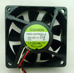 Ball Alarm Canada - New Original SUNON 7020 12V 4.7W PMD1207PKB1-A 70*70*20MM Alarm Signal Cooling fan